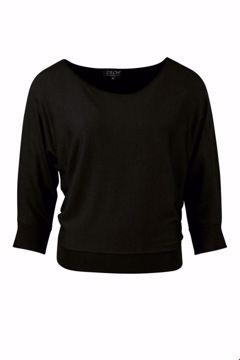 Sweater Batsleeve Black