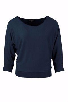 Sweater Batsleeve Navy