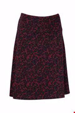 Skirt wide Leaves port