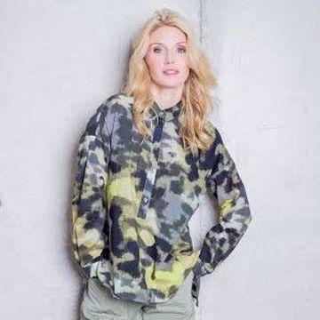 Skjorte med army og neon