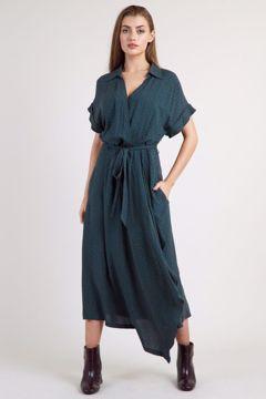 Adira Multi Dot Midi Dress