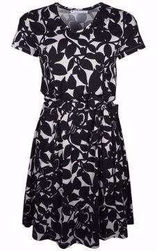 Dress Black/White