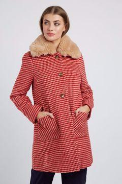 Dryden Dogstooth Coat