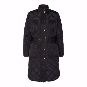 Emma Quilt Jacket Black