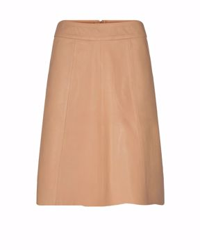 Adalyn leather skirt