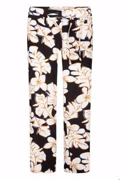 Wide Pants hawaii black