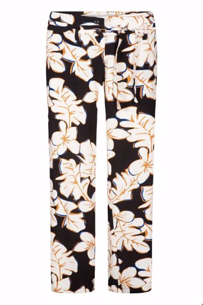 Wide Pants hawaii black