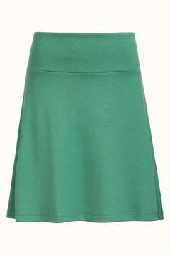 Border skirt milano neptune green