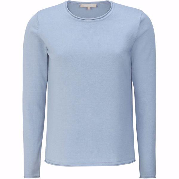 SRMarla O-neck knit Zen blue