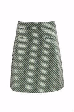 Skirt mosaic lime Zilch