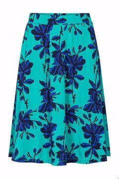 Skirt flowers emerald Zilch