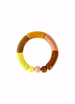 Fenja tube bracelet yellow