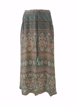 Luna bias skirt w/pockets Black Colour