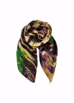 Rainbow scarf yellow