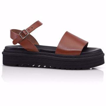 Sarah Vaqueta Cognac Shoe Biz