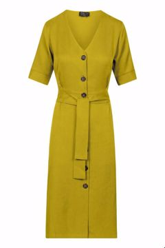 Dress buttons lime Zilch