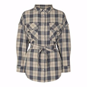 Melba maxine check shirt Co'couture