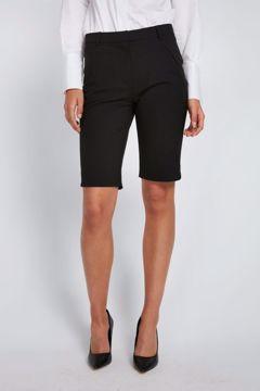 Angelie straight split shorts 285 black Five Units