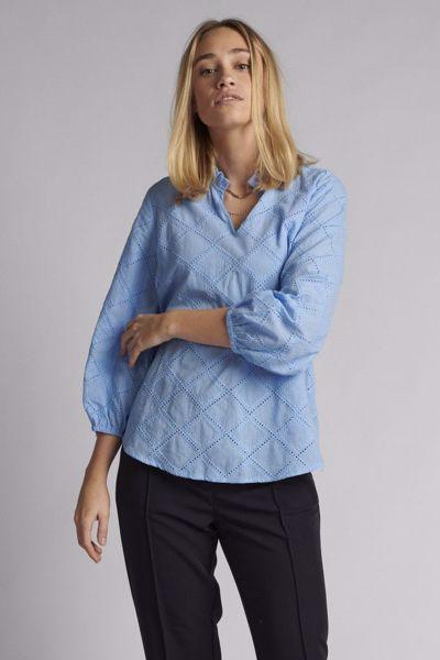 Nubethan blouse vista blue Nümph