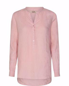 Danna Linen blouse Peachskin Mos Mosh