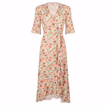 Dress wrap garden flower Esqualo