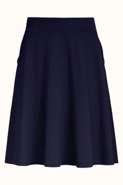 Sofia Skirt Milano Crepe Navy