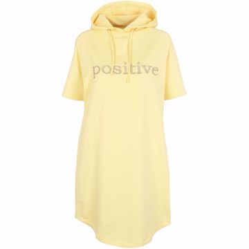 Ava sweat dress Yellow Prepair