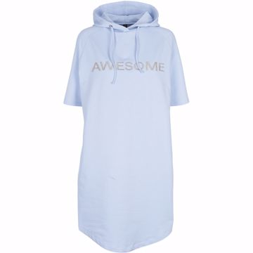 Ava sweat dress Light blue Prepair