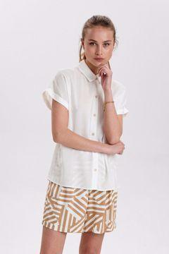 Nucathy shirt White Nümph