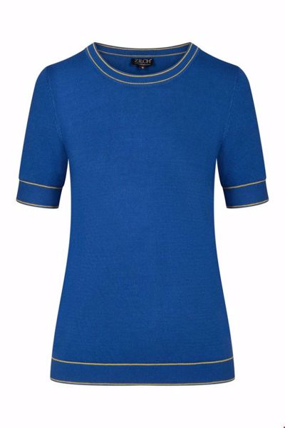 Top roundneck midnight two-tone Zilch