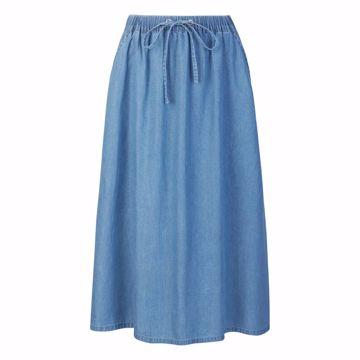 SRSmurf Midi Skirt Medium blue Soft Rebels
