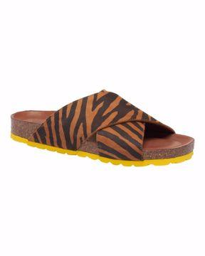 Annet zebra/yellow sandal Tim&Simonsen