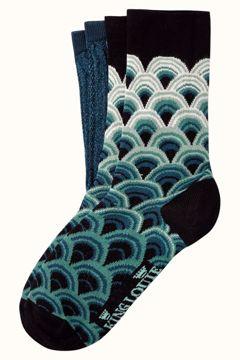 Socks 2-pack pastery King Louie