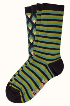 Socks 2-pack candle King Louie