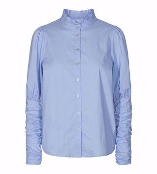 Sandy poplin puff shirt Co'Couture