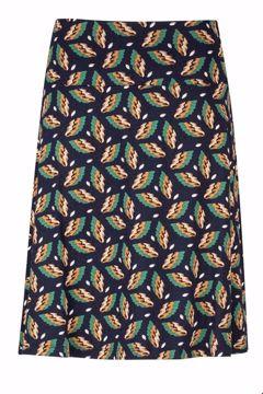 Skirt A-line Autumn Navy Zilch