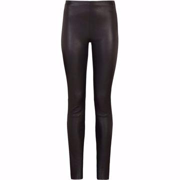 SrSoho Leather Pants Black Soft rebels