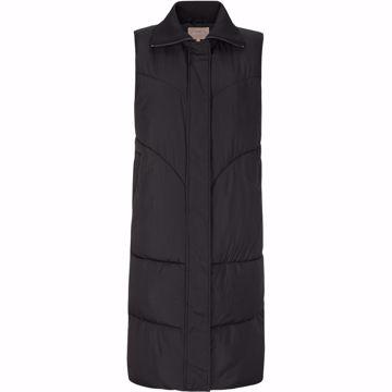 SRInga puffer vest black Soft Rebels