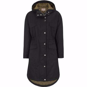 SRRandi Parka Coat Black Soft Rebels