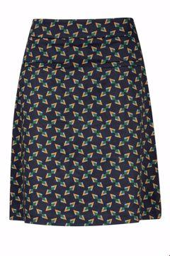 Skirt tangram navy Zilch