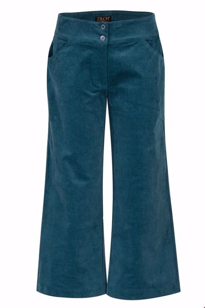 Pants culotte petrol Zilch