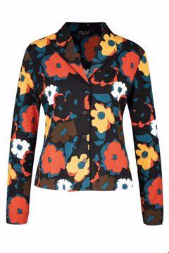 Jacket bouquet petrol Zilch