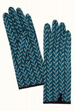 Glove Misletoe Dragonfly Blue King Louie