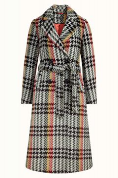Robin Coat Lemaire Check King Louie