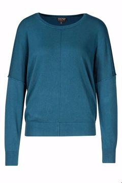 Sweater round neck Petrol Zilch