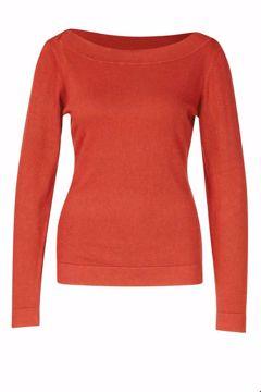 Sweater boatneck Brick Zilch