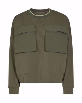 Ulrica pocket sweatshirt Mos Mosh