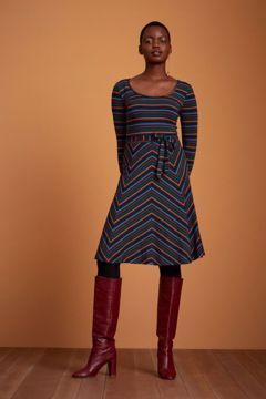 Carice Dress Crush Stripe King Louie