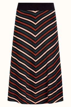 Knit Skirt Cabana Stripe King Louie