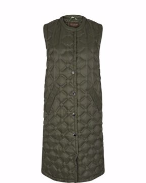 Elvina Quilted Down Waistcoat Mos Mosh